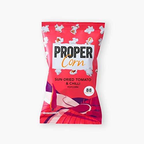 Propercorn | Sun-Dried Tomato & Chilli Popcorn | 1 x 20g