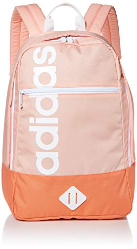 adidas Unisex Court Lite Backpack, Glow Pink/Semi Coral, ONE SIZE