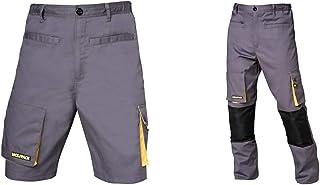 WOLFPACK LINEA PROFESIONAL 15017118 Pantalón Trend Corto (Talla 42/44 M) + 15017090 Pantalon de Trabajo Gris/Negro, Talla ...