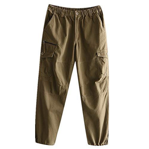 N\P Overalls - Pantalones rectos para hombre de primavera y otoño para ocio al aire libre