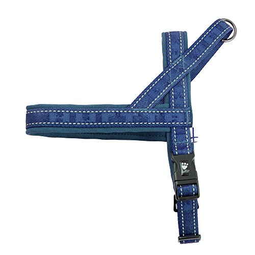 Hurtta Casual Padded Dog Harness, River, 24 in