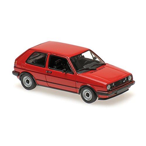 Minichamps 945111985 VW Golf GTI Modellspielzeug, rot, Maßstab 1:43