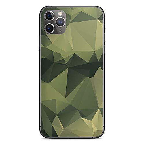 DeinDesign Folie kompatibel mit Apple iPhone 11 Pro Max Aufkleber Skin aus Vinyl-Folie Camouflage Tarnmuster Bundeswehr