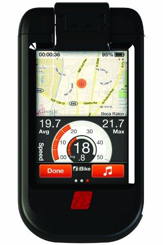 Ibike hartmonitor voor montage op de fiets (voor iPhone/iPod Touch) zwart