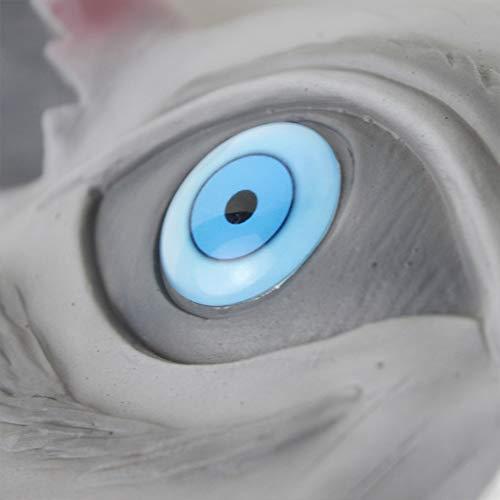 『嘴平伊之助 お面 鬼滅の刃 コスプレ グッズ ラテックスマスク 猪の被り物マスク イノシシ コスプレ 小道具』の1枚目の画像