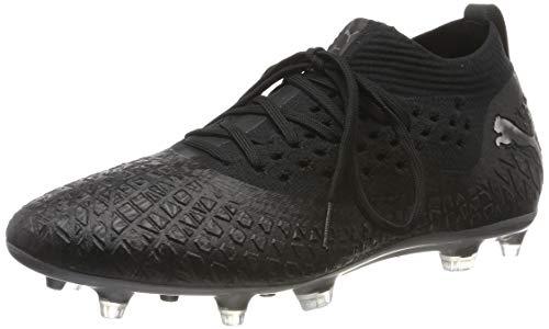 Puma Herren Future 4.2 Netfit FG/AG Fußballschuhe, Black Black Aged Silver 02, 43 EU