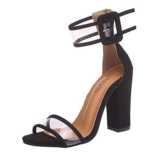 Damen Spot on gewoben Cross Over Open Toe Schnalle Verschluss Sommer Sandalen