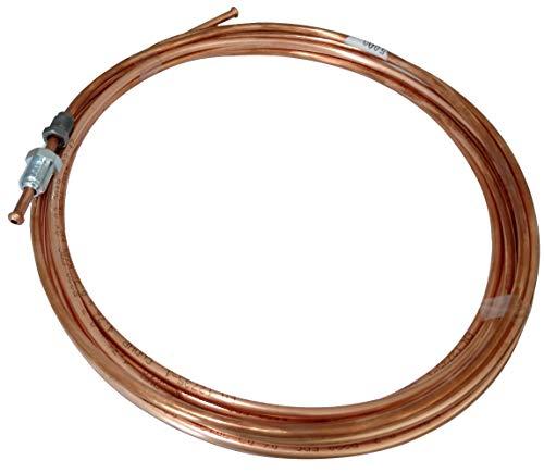 AERZETIX: Línea de freno manguera tubo de cobre Ø4.76mm con racores M12x1/M10x1 (500cm)