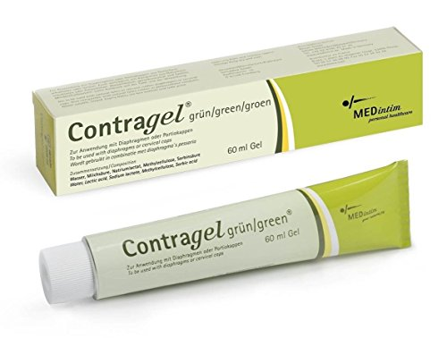 ContraGel Green Contraceptive Gel 60ml