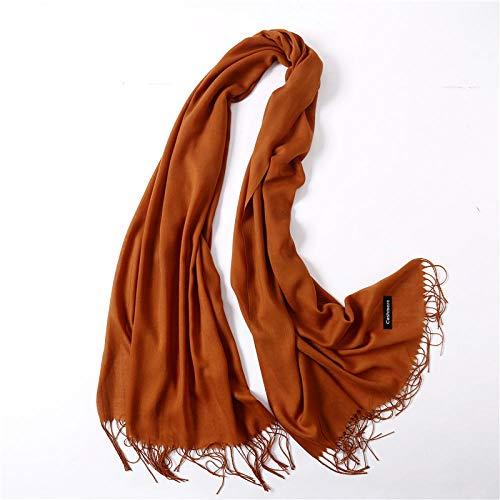 Vrouwen sjaals mode zomer sjaal solide slank en gewikkeld dames hoofdband hijab vrouw winter lange sjaal sjaal