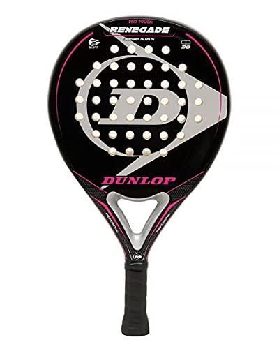 Pala de Padel Dunlop Renegade Soft + Overgrip / Mejores Palas y Raquetas de Pádel para Hombre Mujer niño y niña / Palas Raquetas de Alto Control y Marco de Carbono