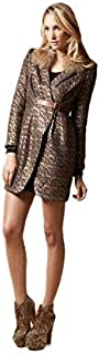 ELLIATT - Metallic Fox Jacket (EW2041322H - Metalic Gold Size S)