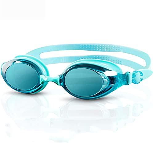 Kaliove Gafas de natación para Adultos Gafas de natación Protección UV UV Anti-Niebla Sin Fugas Grande Marco Amplio Vista Amplia Gafas de Piscina para Mujeres Hombres,E