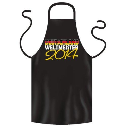 Deutschland Weltmeister 2014 Schürze aus eigener Herstellung