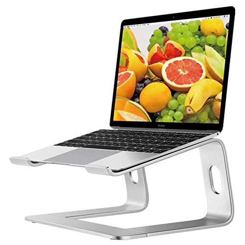 Aluminium Laptopstandaard, Laptopverhoger Met Warmteventilatie, Draagbare Notebookstandaard Compatibel Met Laptop (10 Inch ~ 15,9 Inch)