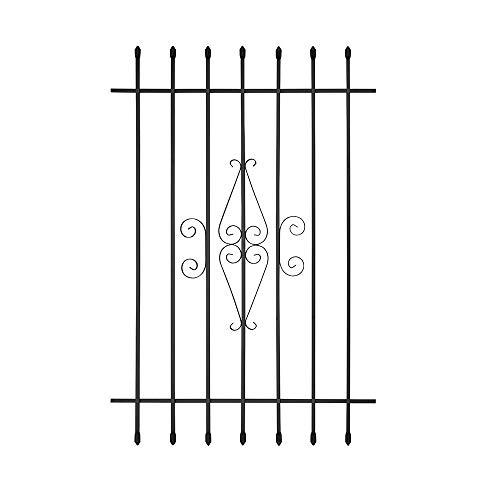 Spear Point Window Bar Guard (36 x 54, Black)