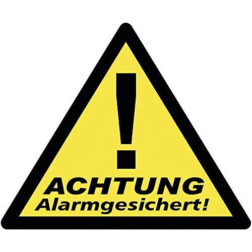 PENTATECH WARNAUFKLEBER DREIECK ALARMGESICHERT