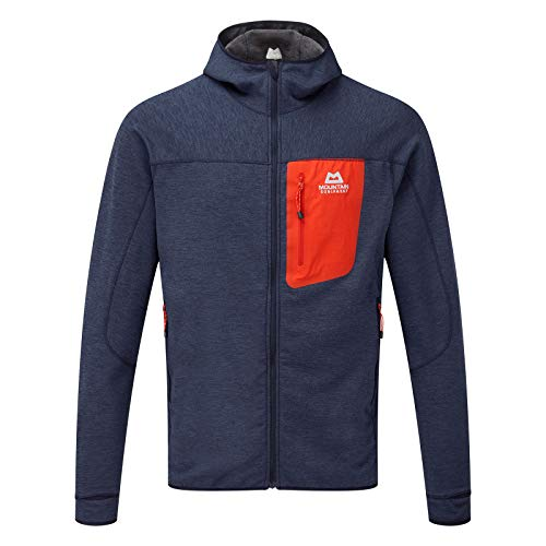 Mountain Equipment Pivot Hooded Jacket, S, Ombre Blue