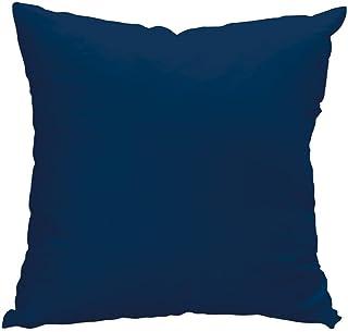Soleil d'ocre 527240 Funda de cojín 40x40 cm Alix Azul Marino