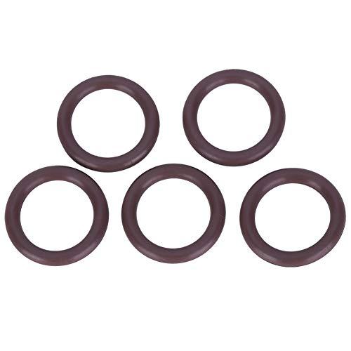 MAGT O-Ring des Tauchzylinderventils, 5PCS AS-050 O-Ring des Tauchventils Braun FKM90 O-Dichtring des Tauchzylinders(12.37x2.62mm)