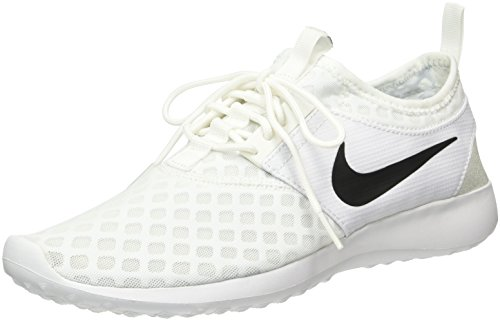 Nike Women's Juvenate Sneaker, White/Black, 8.5 B US