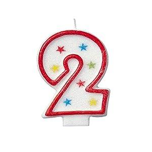 Número velas, 2 números, multicolor, velas de feliz ...