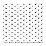 Souarts 1Pièce Tissus Patchwork 150 * 100cm Tissu de Coton Textile Tissu Coton Motif Imprimé Craft Tissu Bundle Carrés Patchwork DIY Tissu pour Couture Vêtements Sewing (etoile blanc,150 * 100cm)