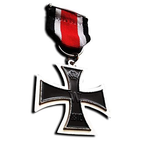Orden Eisernes Kreuz 2.Klasse 1870 mit Band - EK2 - TOP Sammler Anfertigung