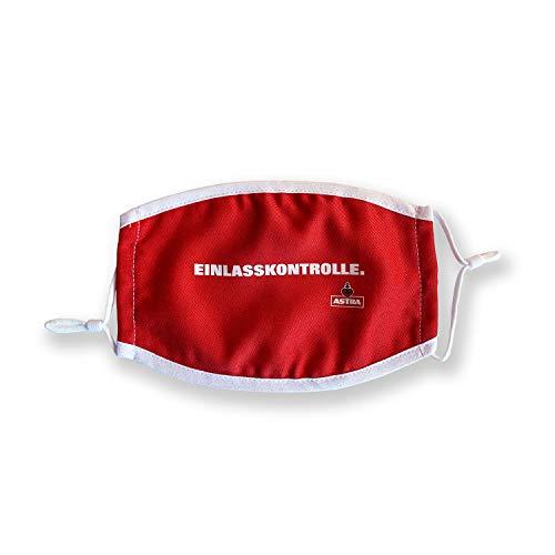 Astra Mundschutz Community Maske, rot, Mund- und Nasenschutz, waschbar (EINLASSKONTROLLE)
