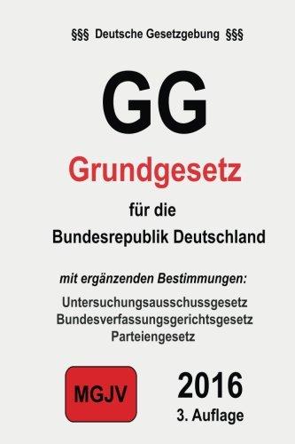 GG: Grundgesetz für die Bundesrepublik Deutschland