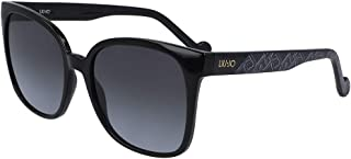 LIU·JO EYEWEAR Women's Sunglasses Rectangular PATTERN EBONY