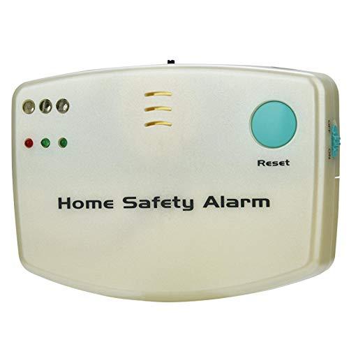 Yctze Buscapersonas de Emergencia Alarma de Seguridad para el hogar Llamada a buscapersonas con Carcasa Totalmente metálica, Grado de Alta impermeabilidad IP67 para Villas, comunidades, Patios,