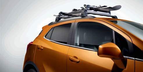 Opel Barras portaequipajes para techo Mokka Thue Deluxe 726 originales 93165523