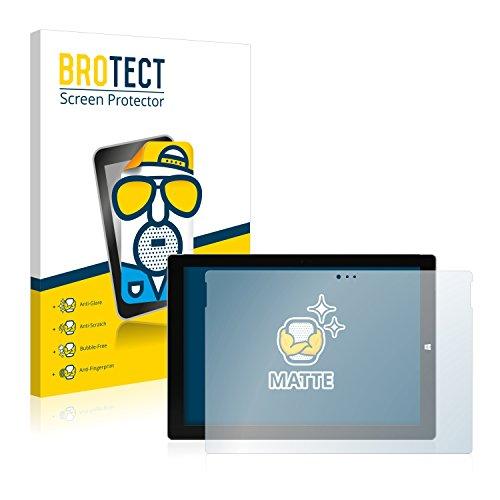BROTECT Protector Pantalla Anti-Reflejos Compatible con Microsoft Surface Pro 3 (2 Unidades) Película Mate Anti-Huellas