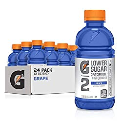 gatorade g2 sports drink, grape - low sugar
