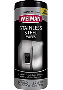 Weiman Stainless Steel Cleaner & Polish Wipes