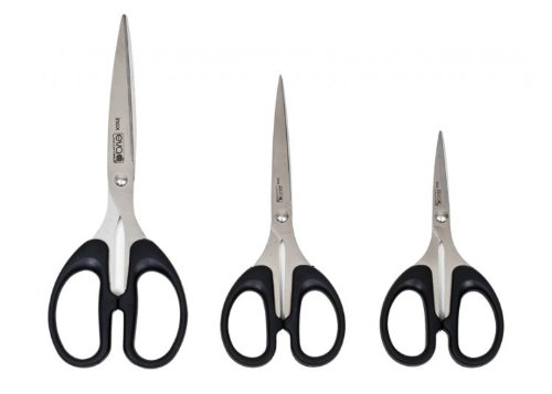 3 forbici da cucina 12-16-19,5cm eva collection