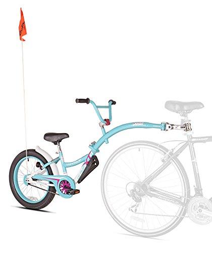 WeeRide 56993 Neumático para Bicicleta Remolque, Niñas, Azul/Rosa, M