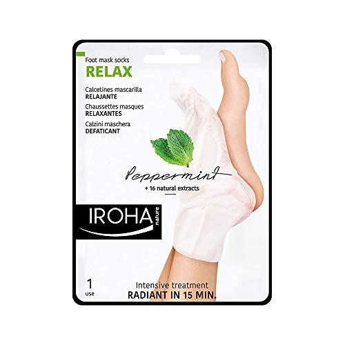 Iroha Nature - RELAXANTES Chaussettes Masque - Menthe 1 pack 2 units