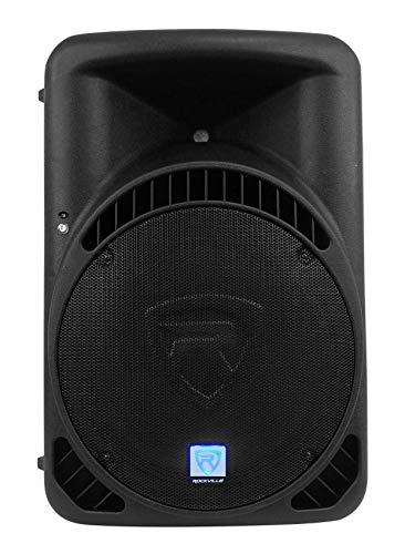 "Rockville RPG15BT V2 15"" Powered 1000W DJ PA Speaker w/Bluetooth + Remote + Wireless Link to Additional Speaker"