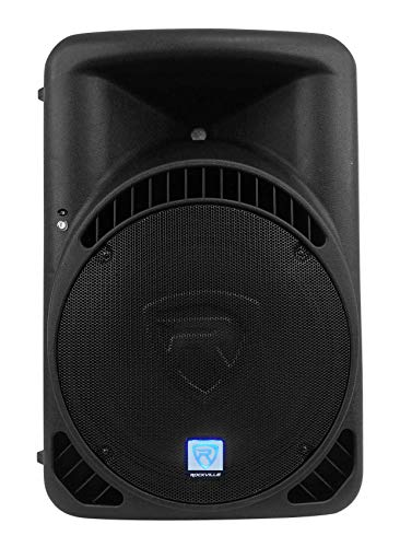 "Rockville RPG15BT V2 15"" Powered 1000W DJ PA Speaker w/Bluetooth + Remote + Wireless Link to Additional Speaker"