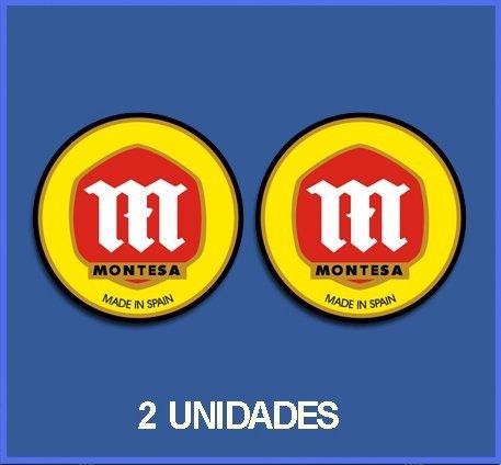 Ecoshirt DW-5MY6-BLHL Pegatinas Stickers Montesa Ref: Dp157 Aufkleber Autocollants Adesivi Moto Decals, 10 cm