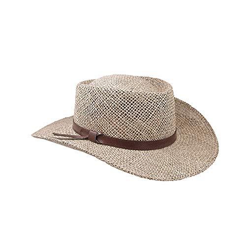 Stetson Gambler Straw Cowboy Wheat Hat, Small/Medium