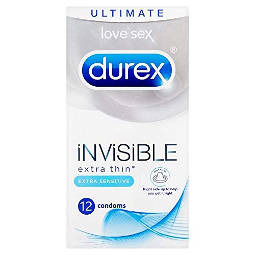 Durex Preservativos Extra Sensitivo - 12 unidades (versión inglesa)