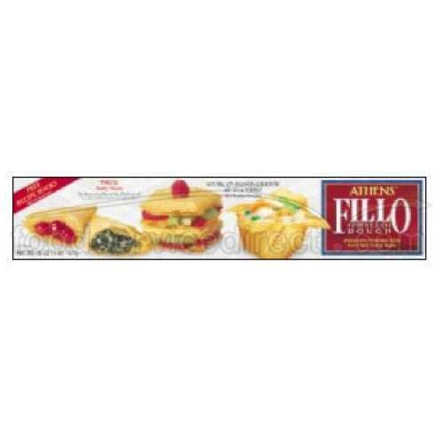 Athens Foods Fillo Dough Sheet, 16 Ounce -- 12 per case.