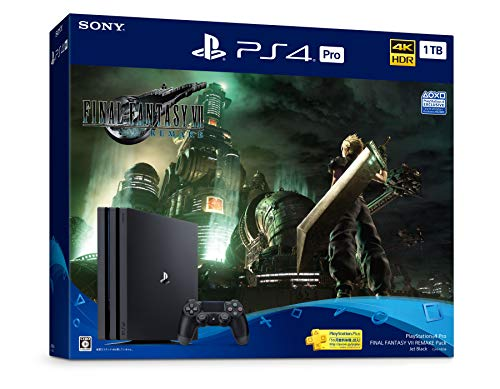 PlayStation 4 Pro FINAL FANTASY VII REMAKE Pack(HDD:1TB)
