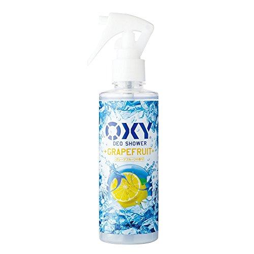 【医薬部外品】オキシー (Oxy) 冷却デオシャワー 制汗剤 皮脂吸着マイクロパウダー配合 グレープフルーツの香り 200mL