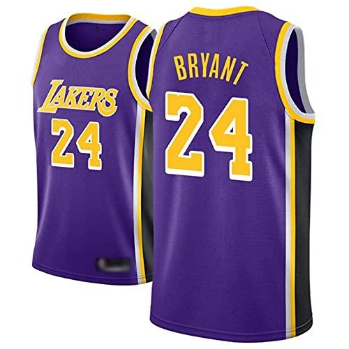 LICHENGTAI Maillot de baloncesto para hombre, 24 camisetas Kobe Bryant, uniformes de baloncesto retro, unisex, transpirable, héroe de baloncesto conmemorativo, regalos para fanáticos
