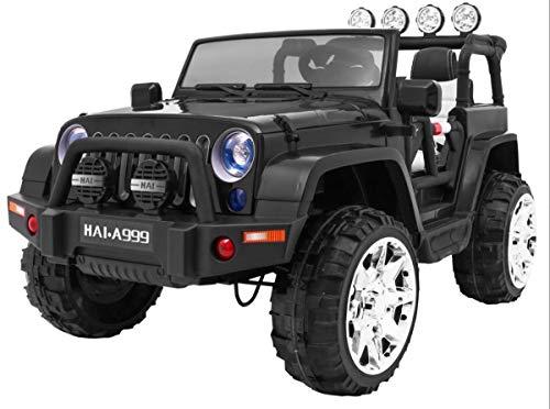 RC Auto kaufen Kinderauto Bild: BSD Kinderauto Elektroauto Kinderfahrzeug Spielzeug Elektrofahrzeuge - Master 4x4 2-Sitzer - Schwarz*