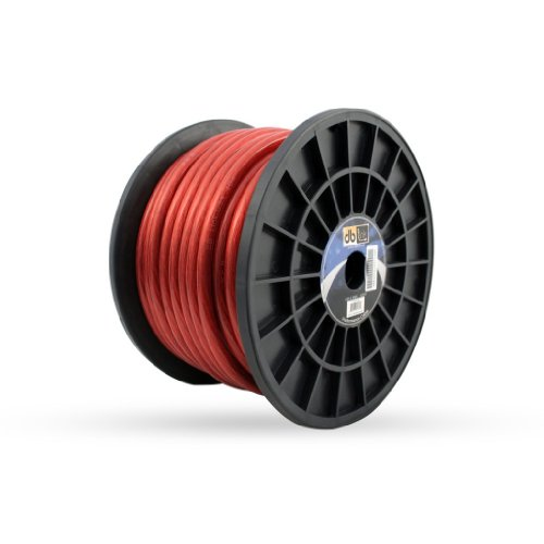 DB Link PW4R100Z 4-Gauge 100-Feet Power Wire (Red)